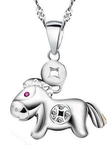 LYCKA silver LPP88173 S925 Silver Necklace 2C788AC1CB9354GS_1
