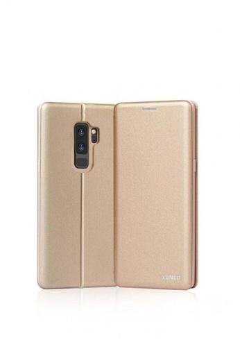 MobileHub gold XUNDD Saina Folio Case For Samsung Galaxy S9 Plus 53B81AC68F319DGS_1