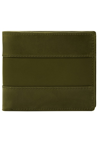 FOSSIL green Everett Wallet ML4400386 45869AC6CC4CFDGS_1