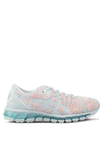 Asics grey Gel-Quantum 360 Knit 2 Shoes AS989SH0SVT5MY_1