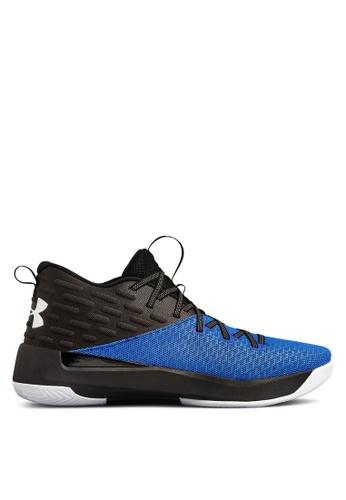 Under Armour black UA Lightning 5 Basketball Shoes CEE98SH9C03349GS_1