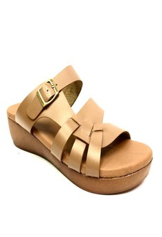 Lhea Leather Sandals