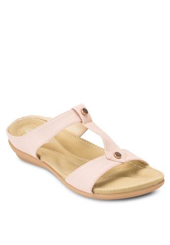 雙帶休閒涼鞋,esprit hk store 女鞋, 鞋