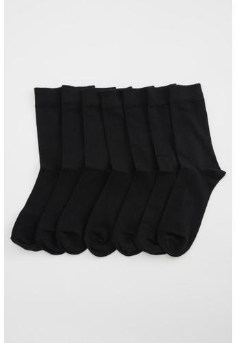 DeFacto black 7-pack Socks C1411AA2E5904EGS_1