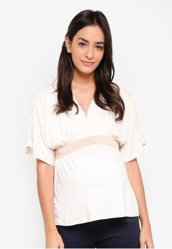 Envie De Fraise white Maternity Felicieor Top 3F2A7AA7027090GS_1