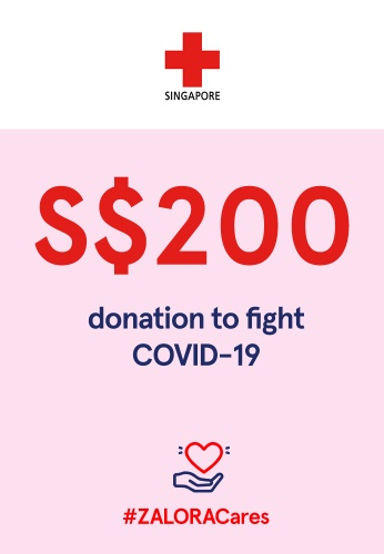 #ZALORACares Red Cross - Donation to fight COVID-19 (SGD 200) 2CAC5AC2B81050GS_1