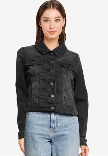 Vero Moda grey Tine Slim Denim Jacket 92743AA0C136C4GS_1