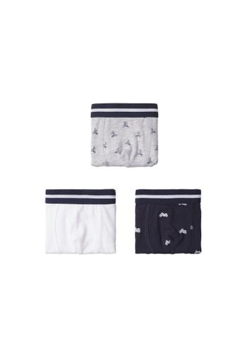 MANGO BABY white Mixed 3 Boxers Pack D7624KA51796CDGS_1