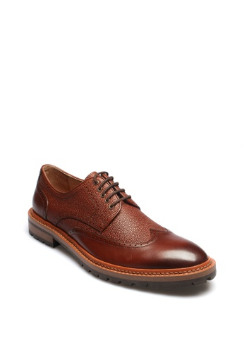 East Rock brown Regent Men's Formal Shoes D03BFSHAD35BE1GS_1
