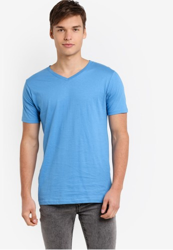 Factorie blue The Legacy Vee T-Shirt FA113AA47YSIID_1