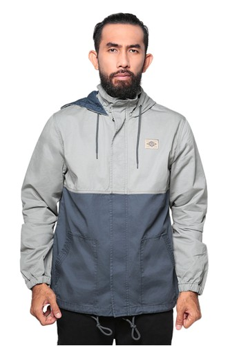 Eiger grey 1989 Kahuna Jacket Hoodie 31B8BAABB35E70GS_1