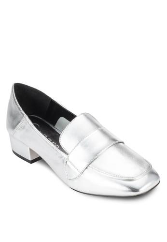 方頭低跟樂福鞋, 女鞋,esprit女裝 鞋