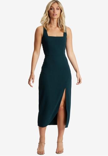 Calli 綠色 Aluna 洋裝 31620AAA818A32GS_1
