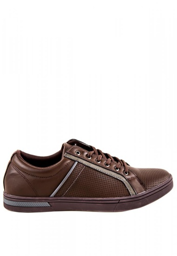 Otto brown Men's Sneakers OT407SH0JDLDPH_1
