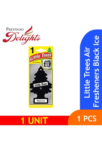 Prestigio Delights black and white and multi Little Trees Air Fresheners Black Ice 46B19ESB7B23D9GS_1