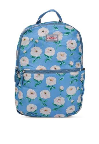 Cath Kidston blue Dahlia Foldaway Backpack D3D6BAC30201ABGS_1
