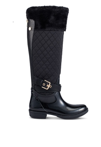 Guess black Shallow Embossed Boots GU020SH0RUTNMY_1