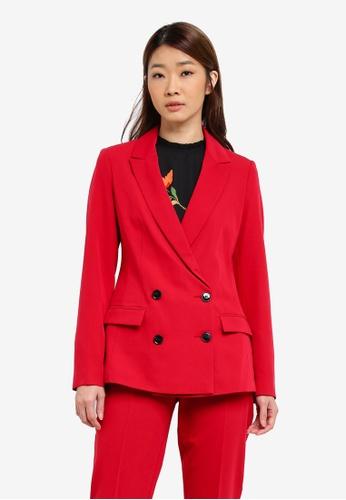 Dorothy Perkins red Suit Blazer DO816AA0S4TRMY_1