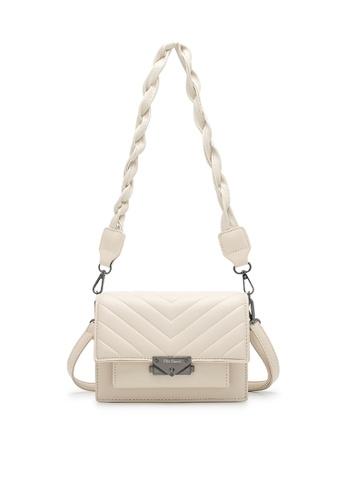 Wild Channel beige Women's Sling Bag / Shoulder Bag / Crossbody Bag DD037ACE774619GS_1