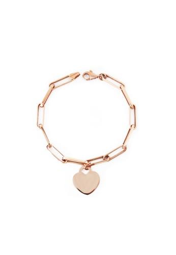 GOLDHEART gold GOLDHEART Bracelet, Rose Gold 585 (VXXHOB11405-III-R) FAAD5ACBF32A79GS_1