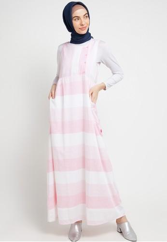 Cardinal pink Dress Panjang F28D6AA24A7155GS_1