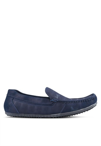Louis Cuppers blue and navy Casual Loafer LO977SH0S9S0MY_1