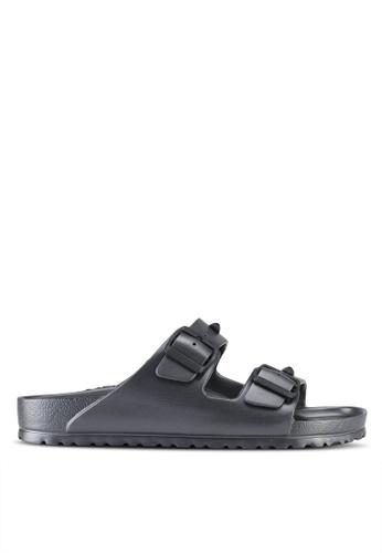 Birkenstock grey Arizona EVA Studded Sandals 1421ESH5053135GS_1