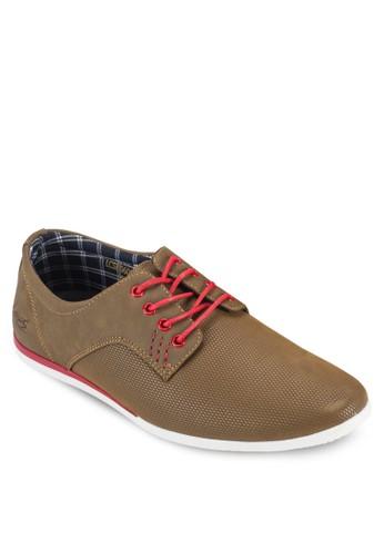 撞色繫帶zalora鞋正式感休閒鞋, 鞋, 休閒鞋