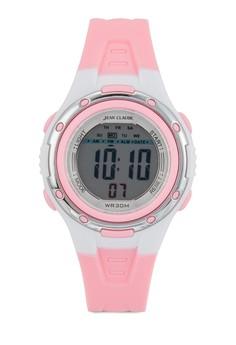 數字中性運動型手錶