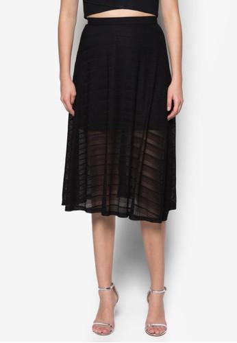 蕾絲及膝裙,esprit outlet台北 服飾, 裙子