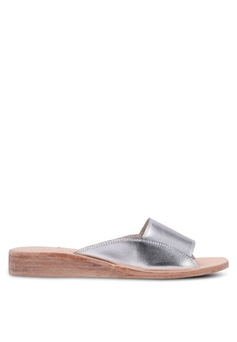 Free People silver Daybird Mini Wedge Sandals FR659SH0RUQXMY_1
