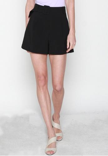 JOVET black High Waist Shorts 0BD88AA315E519GS_1