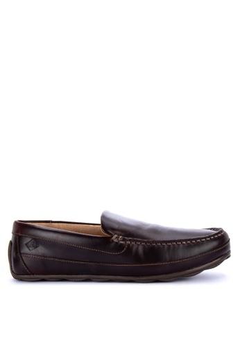 Sperry brown Hampden Venitian Loafers 77460SH529C181GS_1