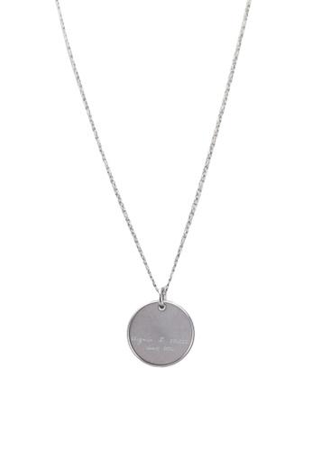 Agnes B silver Christmas 1976 Necklace 2CC51AC0EAD8D8GS_1