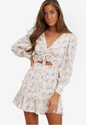 Savel white Olia Mini Dress 797E4AA51F8EBEGS_1
