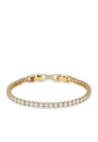 Swarovski white Tennis Deluxe Bracelet 68C01ACDD21FF2GS_1