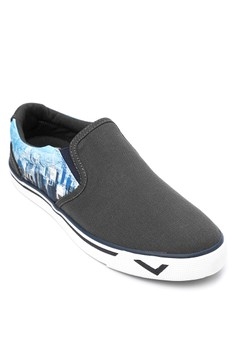 New School Slip On Sneakers