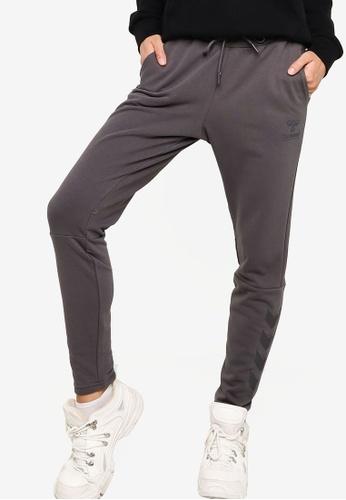 Hummel grey Noni Tapered Pants F36E1AA6E07703GS_1