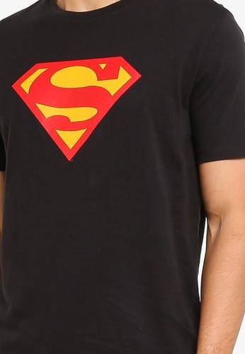 GAP black Superman T-Shirt 1C03CAA1E14CECGS_1