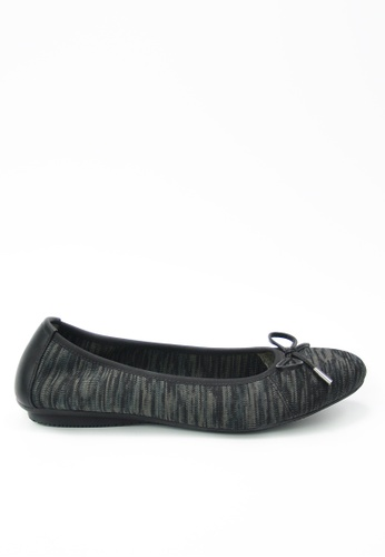 Twenty Eight Shoes 黑色 平底針織鞋 187EFSH524C1F3GS_1