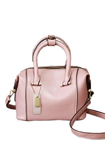 Twenty Eight Shoes pink VANSA Cow Leather Crossbody Bag VBW-Cb025S 8F69FAC3EBB87CGS_1