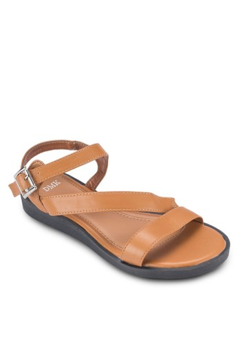 多帶厚底涼鞋, esprit旗艦店女鞋, 鞋