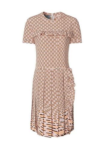 Prada multi Prada Geometric Printed Jumper Dress in Multicolor C6AF2AAA9FEB6DGS_1