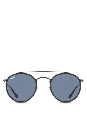 7050cb6da7938 Buy Ray-Ban Round Double Bridge RB3647N Sunglasses Online   ZALORA Malaysia