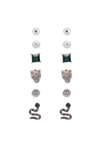 ALDO green Lareanna Earrings DD715AC2949A34GS_1