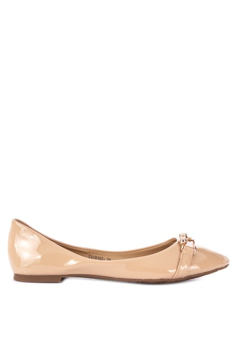 53508f5ee9b6ca Shop Gibi Pointed Toe Flats Online on ZALORA Philippines