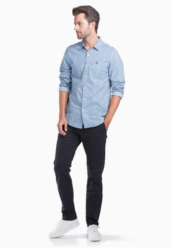 Levi's blue Dockers Original Button Up Shirt Men 52669-0111 95B2EAACAF8FDEGS_1