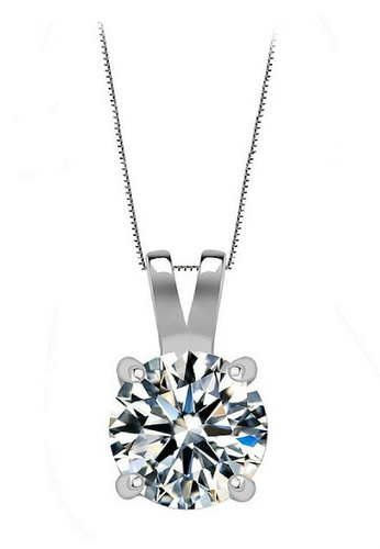 Vivere Rosse silver My Only One Necklace VI014AC18LHTMY_1