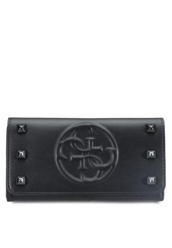 Korry 品牌浮雕esprit home 台灣鉚釘長夾, 包, 飾品配件