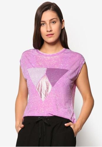 燙金三角形運動TEEesprit 品牌, 服飾, 上衣